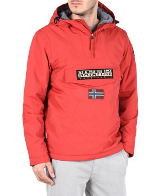NAPAPIJRI RAINFOREST WINTER MAN RAINFOREST,RED