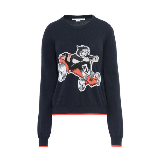 Crew Neck The Dandy Print Jumper