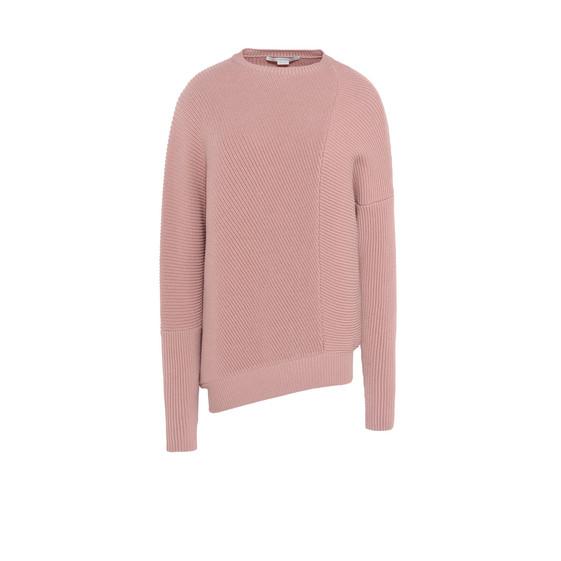 Blush Knit Crewneck Sweater