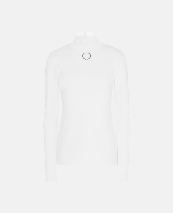 White Turtle Neck Jumper