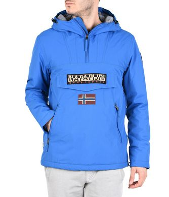 NAPAPIJRI RAINFOREST WINTER POCKETS HOMME RAINFOREST,BLEU