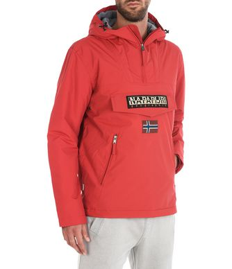 NAPAPIJRI RAINFOREST WINTER POCKETS HOMME RAINFOREST,ROUGE