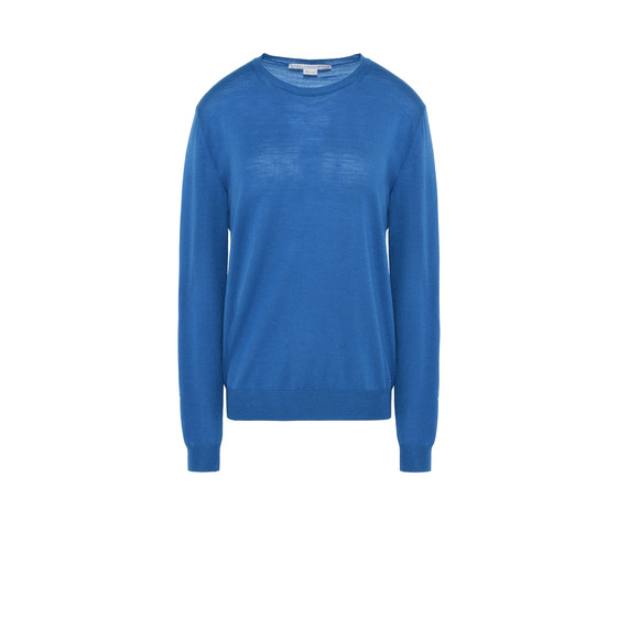 Azure Blue Crewneck Sweater