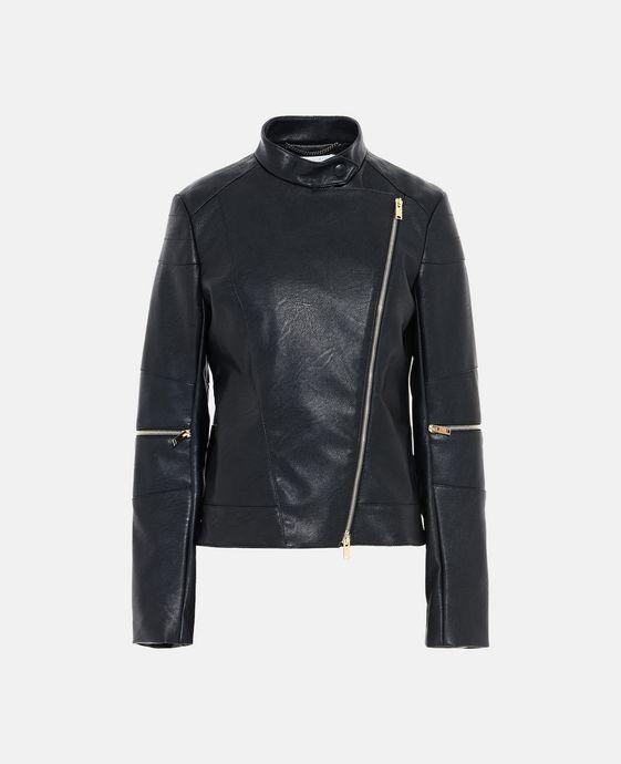 STELLA McCARTNEY Victoire Skin Free Skin Leather Jacket Short D c