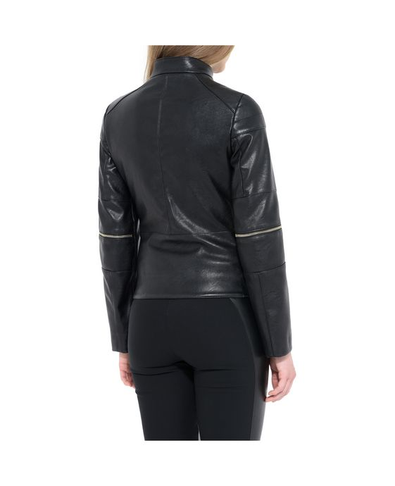 STELLA McCARTNEY Victoire Skin Free Skin Leather Jacket Short D g