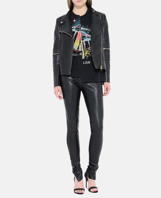 STELLA McCARTNEY Victoire Skin Free Skin Leather Jacket Short D h