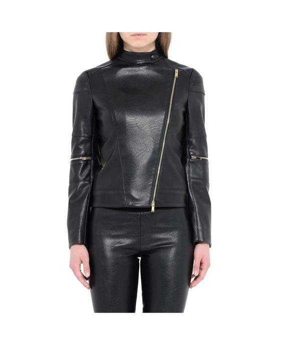 STELLA McCARTNEY Victoire Skin Free Skin Leather Jacket Short D i