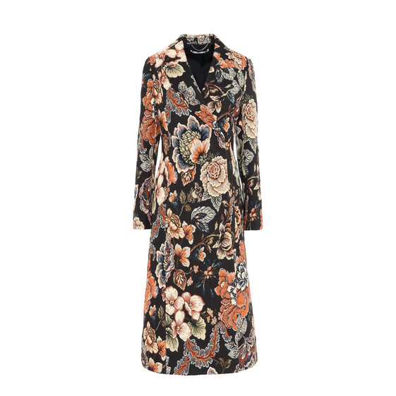 Jacquard Tapestry Vivienne Coat