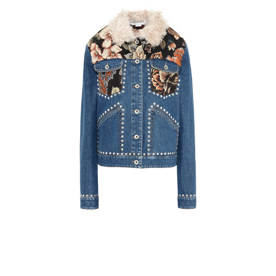 Denim Tapesty Jacket