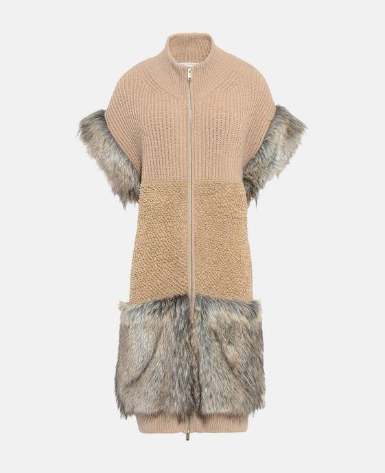 Gilet en tricot Fur Free Fur