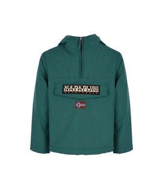 NAPAPIJRI K RAINFOREST WINTER KID KID RAINFOREST,EMERALD GREEN