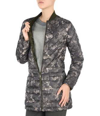 NAPAPIJRI APHIRA LONG REVERSIBLE WOMAN LONG JACKET,GREY