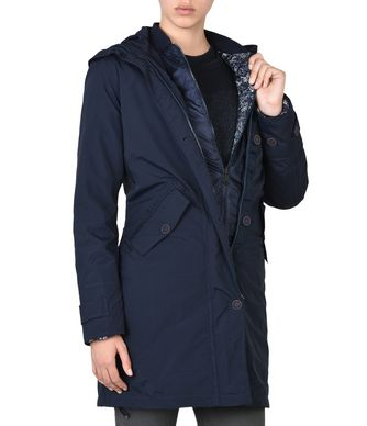 NAPAPIJRI ANNONAY 3IN1 WOMAN PARKA,DARK BLUE