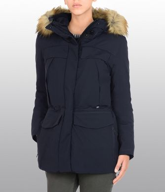 NAPAPIJRI SUPERLIGHT SKIDOO ECO FUR WOMAN PARKA,DARK BLUE