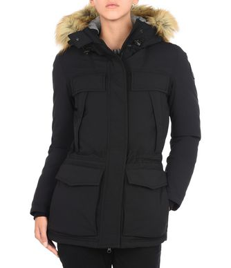 NAPAPIJRI SKIDOO OPEN LONG WOMAN SKIDOO,BLACK