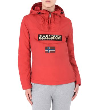 NAPAPIJRI RAINFOREST WINTER WOMAN RAINFOREST,RED