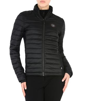 NAPAPIJRI ARMAG PACKABLE 2IN1 WOMAN SHORT JACKET,BLACK