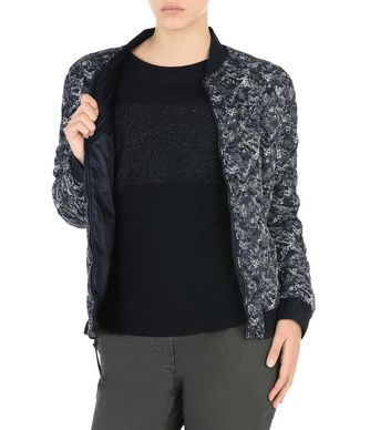 NAPAPIJRI APHIRA REVERSIBLE WOMAN BOMBER JACKET,DARK BLUE