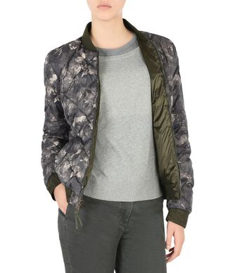 NAPAPIJRI APHIRA REVERSIBLE WOMAN BOMBER JACKET,GREY