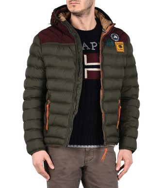 NAPAPIJRI ARTICAGE MAN PADDED JACKET,MILITARY GREEN