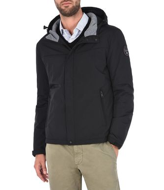 NAPAPIJRI ALCAN MAN SHORT JACKET,BLACK