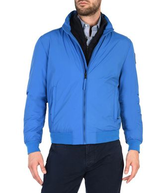 NAPAPIJRI ALENEVA MAN SHORT JACKET,BLUE