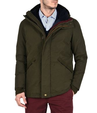 NAPAPIJRI ANNIBES MAN LONG JACKET,MILITARY GREEN