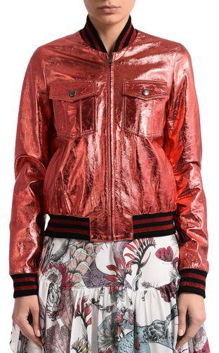 JUST CAVALLI Leather Jacket D f