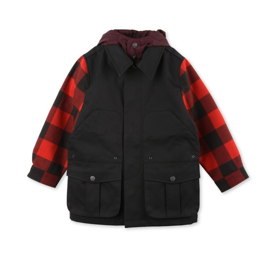 STELLA McCARTNEY KIDS Outerwear U Beckett Check Jacket f