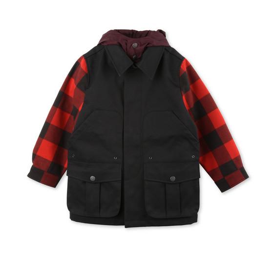 STELLA McCARTNEY KIDS Outerwear U Beckett Check Jacket f