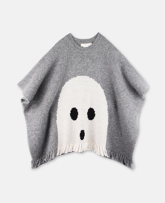 Agney Gray Ghost Cape