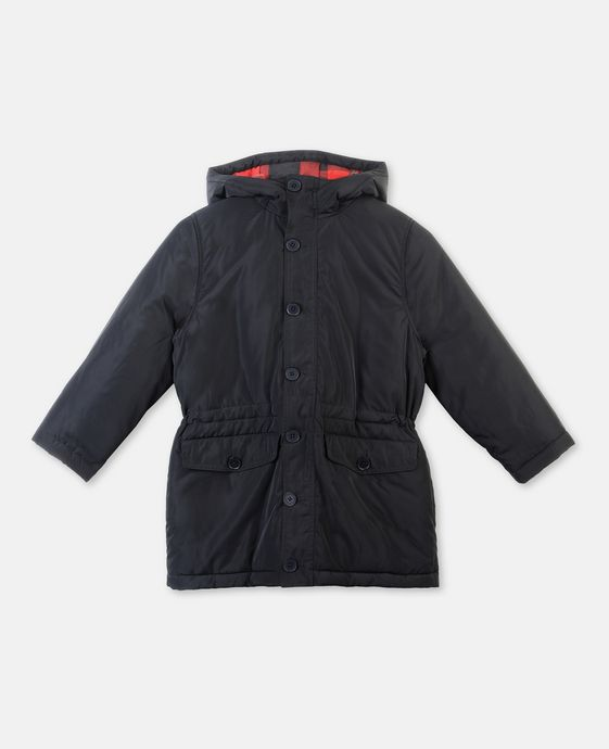 Campbell Black Puffer Jacket