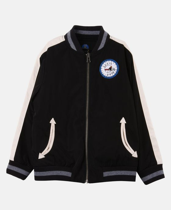 STELLA McCARTNEY KIDS Eastwood Reversible Bomber Jacket. Outerwear U c