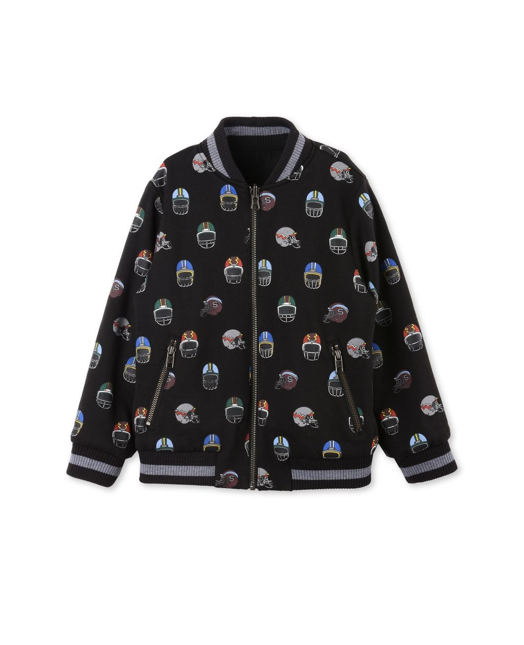 Eastwood Reversible Bomber Jacket. - STELLA MCCARTNEY KIDS