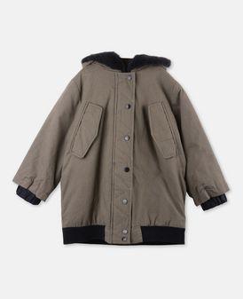 Dakota Khaki Faux-Fur Coat