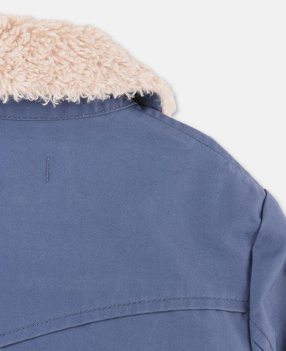 STELLA McCARTNEY KIDS Luke Blue Teddy Jacket Outerwear U g