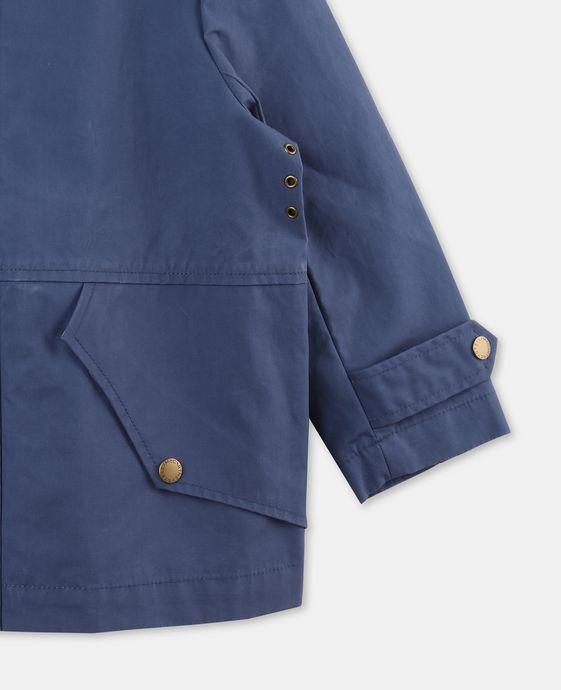 STELLA McCARTNEY KIDS Luke Blue Teddy Jacket Outerwear U h