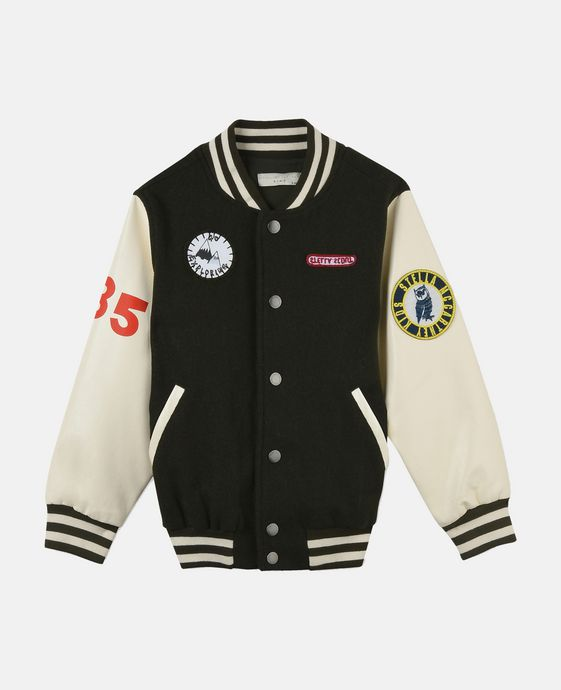 Don Badge Bomber Jacket