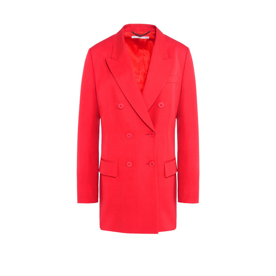 Nicola Red Tailored Jacket