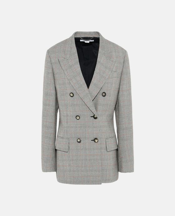 Nicola Grey Check Jacket