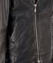BOTTEGA VENETA BIKER IN NERO CALF LEATHER , INTRECCIATO DETAILS Coat or Jacket U ap