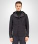 BOTTEGA VENETA BLOUSON IN DARK NAVY LAMB LEATHER , REVERSIBLE WITH NYLON AND INTRECCIATO DETAILS Coat or Jacket U ep
