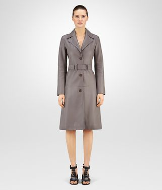 STEEL DEER LEATHER TRENCH