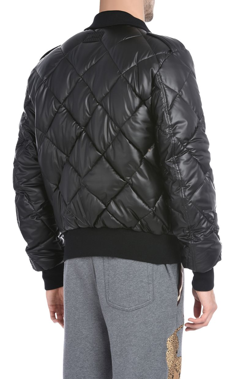 JUST CAVALLI Quilted sports jacket Jacket U d