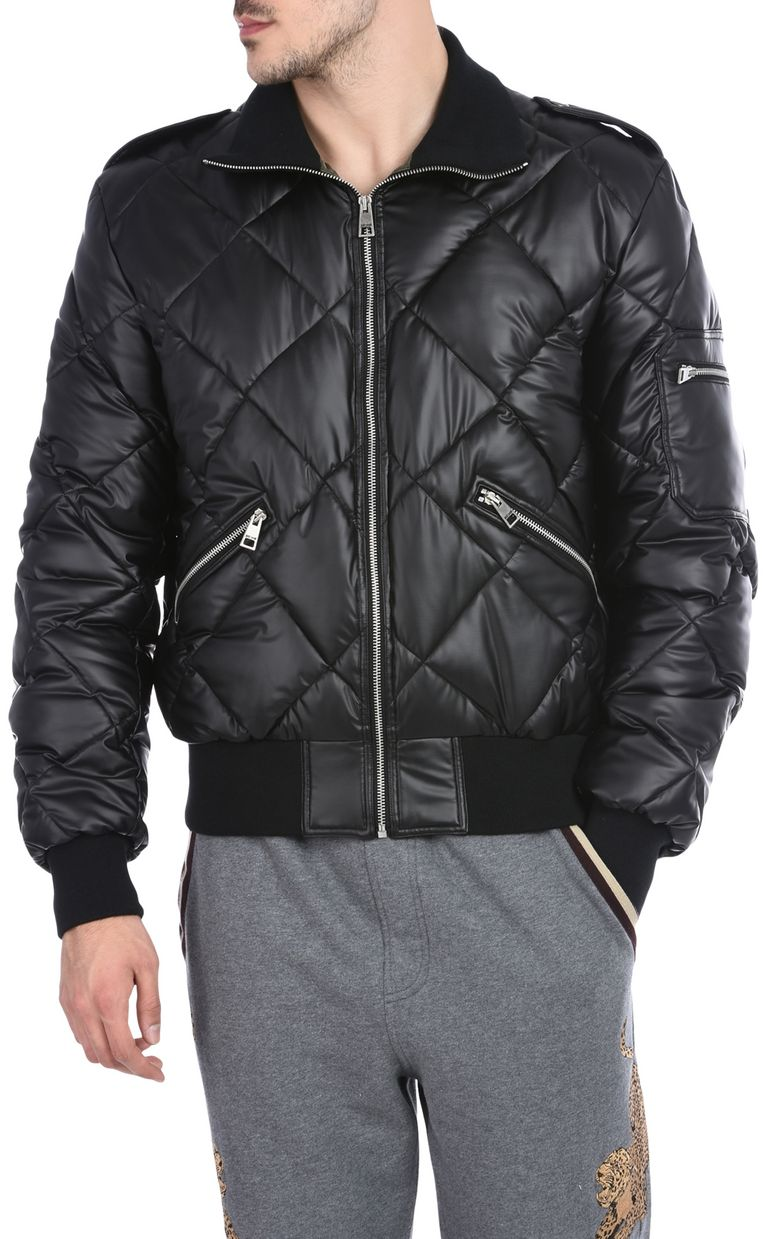 JUST CAVALLI Quilted sports jacket Jacket U f