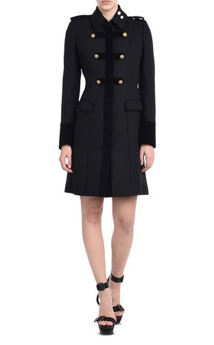 JUST CAVALLI Coat D Double-breasted coat f