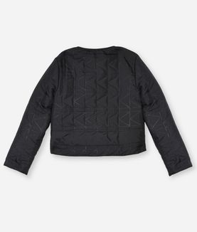 KARL LAGERFELD QUILTED SHORT JACKET