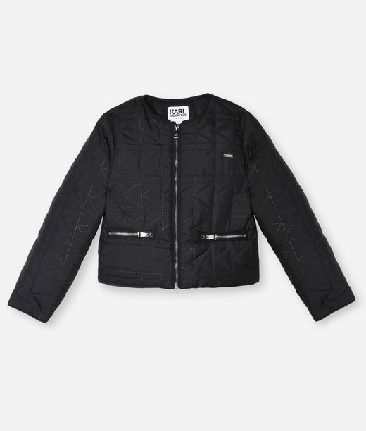 KARL LAGERFELD QUILTED SHORT JACKET 12_f