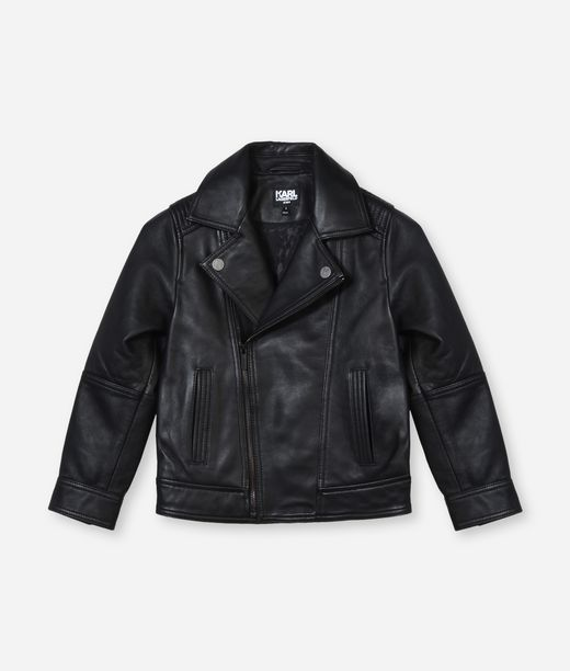 KARL LAGERFELD LEATHER BIKER JACKET 12_f