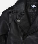 KARL LAGERFELD LEATHER BIKER JACKET 8_d